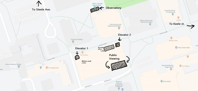 Public viewing directions map